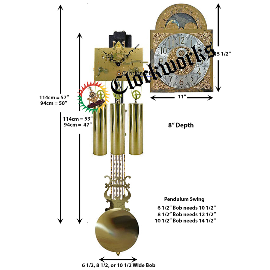 Hermle Clock Kit 248