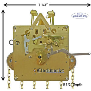 1151-050 Hermle Clock Movement