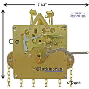 1151-053 Hermle Clock Movement