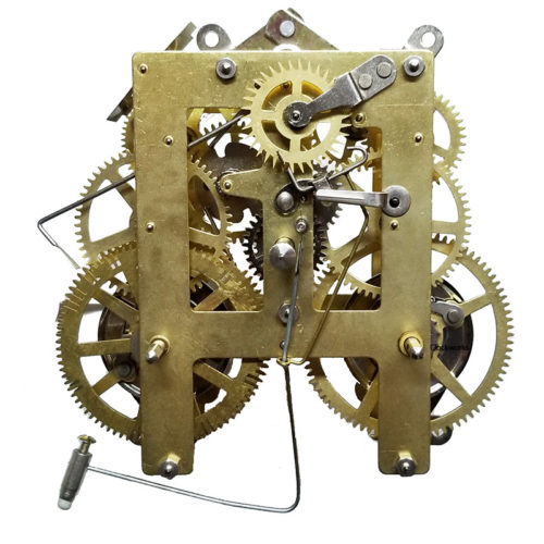 Antique American Clock Movement Replacement