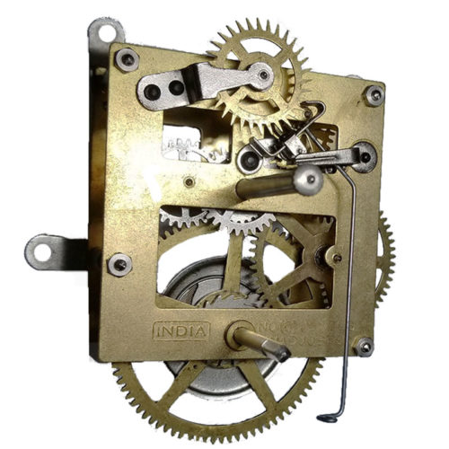 Time only mechanical clock movement