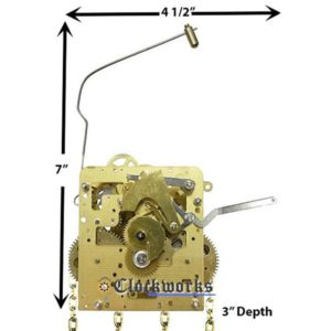 NEW 241-081 Clock Movement by Hermle