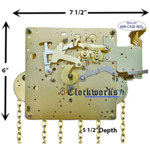 451-033 Hermle Clock Movement