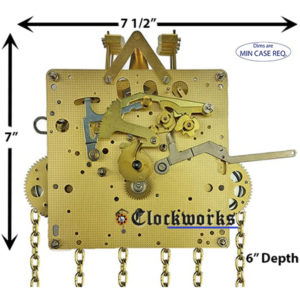 451-050 Hermle Clock Movement