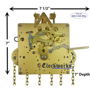 451-053 Hermle Clock Movement