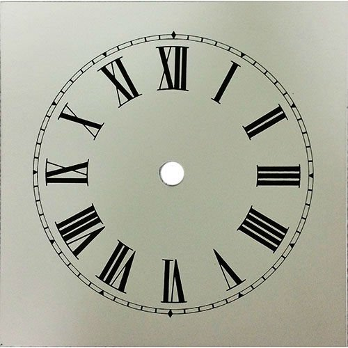 Heavy Cottage Clock Dial