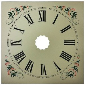 Large OGee Style Clock Dial