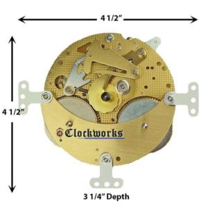 NEW 131-070 Clock Movement by Hermle