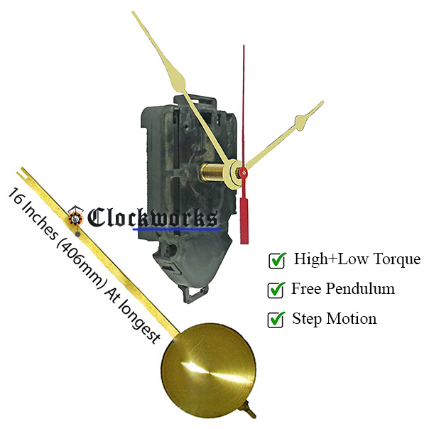 Pendulum Quartz Clock Movements