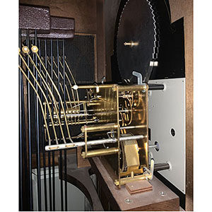 Mechanical Clock-Chime Hammer Positioning