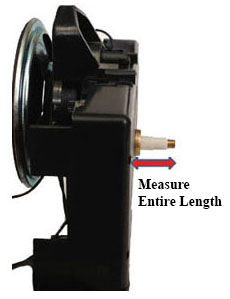 How to measure the Hermle quartz handshaft