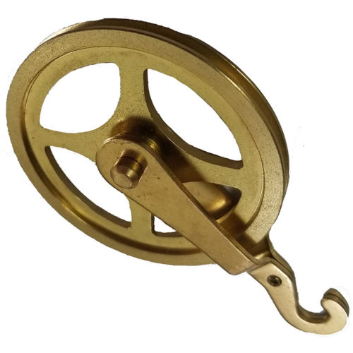 Hook Clock Weight Pulley