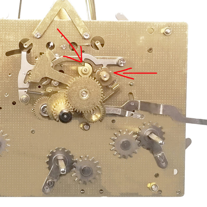mechanical clock chime forever correction